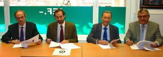 Firma de Convenio de Colaboración entre ASALMA y la Universidad a Distancia de Madrid (UDIMA)