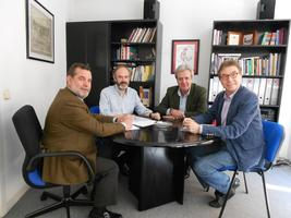 Reunión de los Secretarios Generales de CC.OO. y U.G.T. de Madrid con el presidente de ASALMA