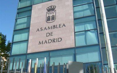 La Asamblea de Madrid aprueba una Proposición No de Ley